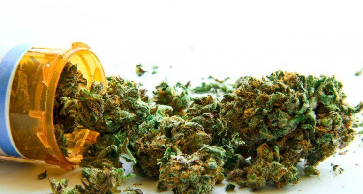 medicinal cannabis jar